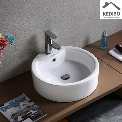 Bathroom Round Counter Top Art Basin 7026