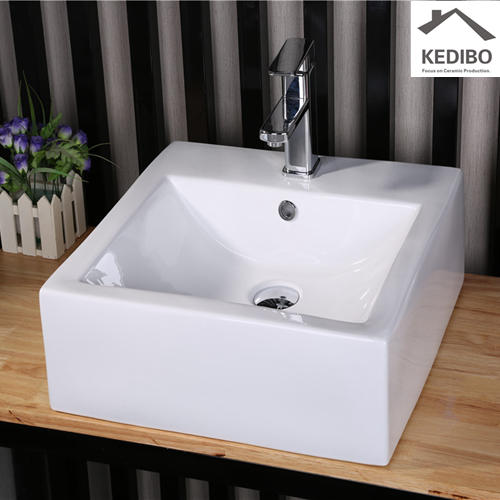 CE/CSA Approved Square Bathroom Vanity Basin 7029C