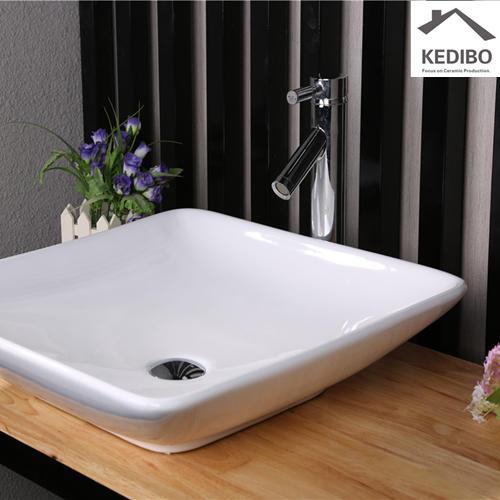 505x505 Square Bowl Design Bathroom Porcelain Art Basin 7034E