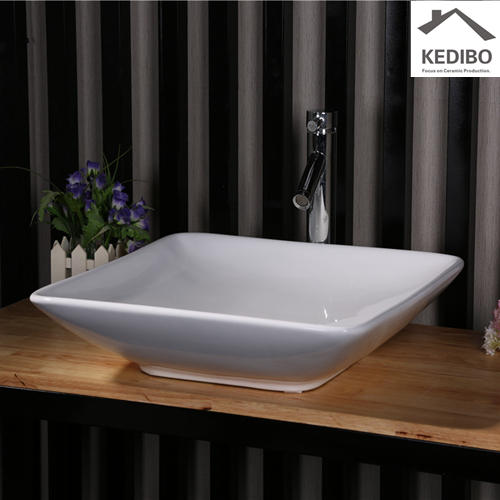 505x505 Square Bowl Design Bathroom Porcelain Art Basin 7034E