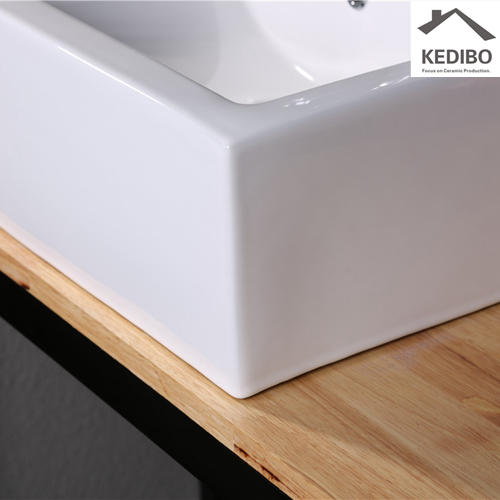 nice rectangular drop in bathroom sinks great deal for toilet KEDIBO