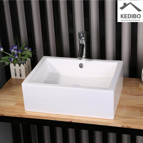 CSA Certification Bathroom Square Ceramic Basin  7038G
