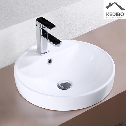 ceramic bowl counter OEM art basin KEDIBO