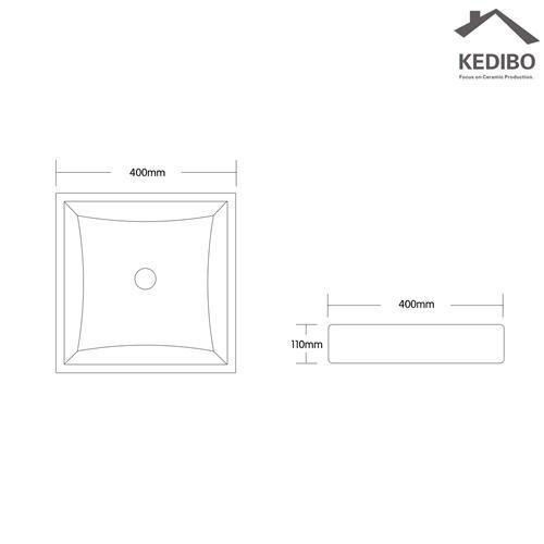 KEDIBO modern sanitary basin exporter for super market
