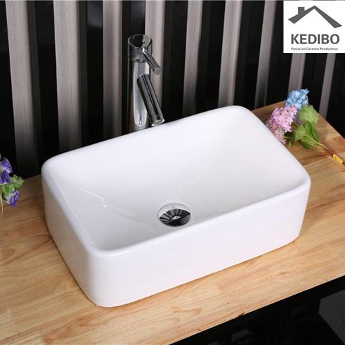 485x300 Rectangle Bathroom Ceramic Art Basin 7050A