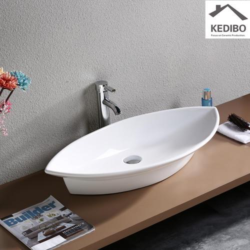 790x385 Big Size Bathroom Special Design Ceramic Basin 7093