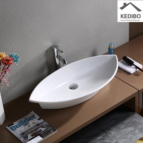 790x385 Big Size Bathroom Special Design Ceramic Basin 7093