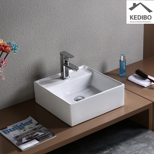 410x410 CSA Square Bathroom Regular Project Basin 7094
