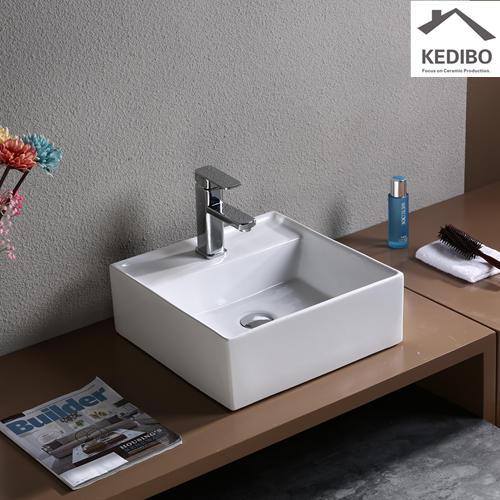 410x410 CSA Square Bathroom Regular Project Basin 7094