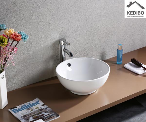 390x390 Bathroom Small Countertop Basin  7008C