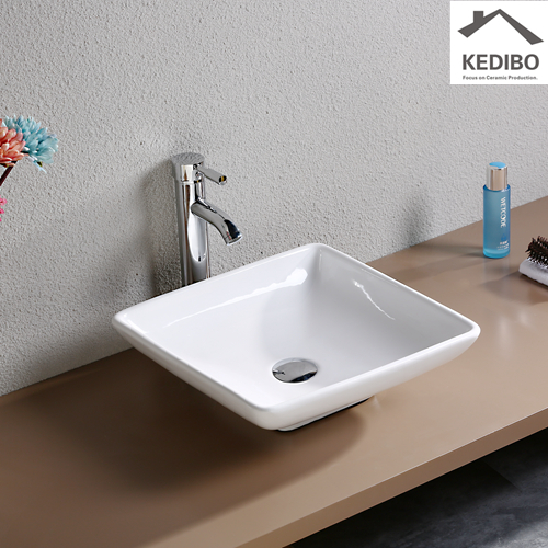 rectangular bathroom sink for washroom KEDIBO-1