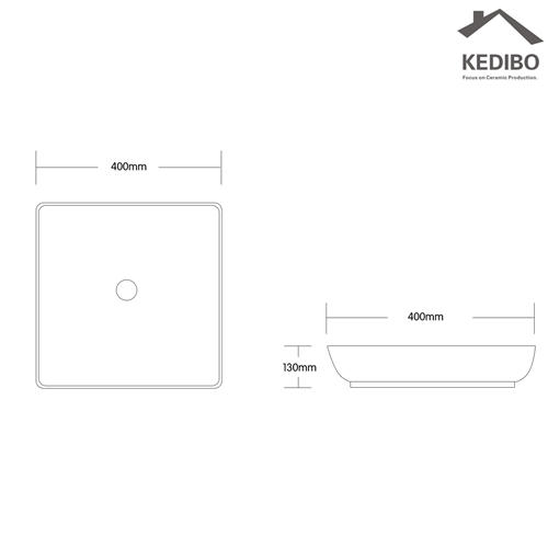 white length art basin KEDIBO Brand