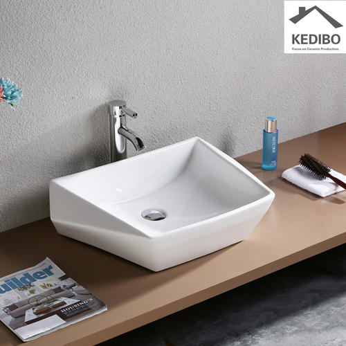 KEDIBO Brand above edge art basin oval factory