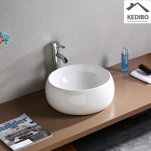 deep mounting toilet wash basin design KEDIBO manufacture