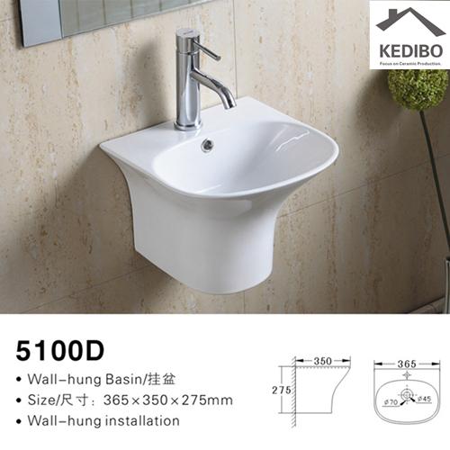KEDIBO pratical wall hung basin bulk production for bathroom-2