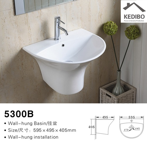 easy-to-install wall mounted wash basins bulk production for indoor bathroom-2