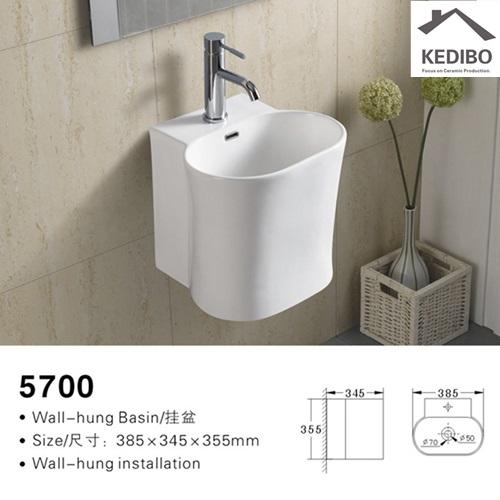 KEDIBO different style wall mounted basin dropshipping for washroom-2