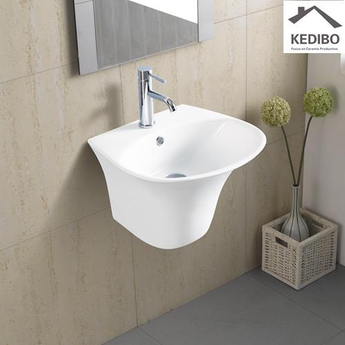 555x470 Round Bowl Ceramic Washing Sink 5600B
