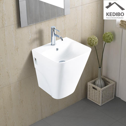465x400 Square Bowl Ceramic Washing Basin 5800
