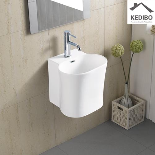 KEDIBO useful ceramic wall hung basin grab now for commercial apartment-4