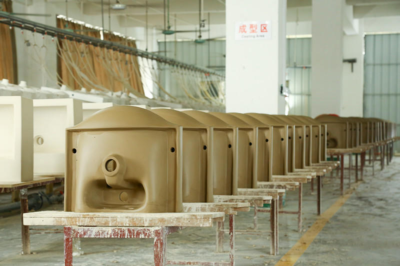 different glossy ceramic wall hung basin KEDIBO Brand