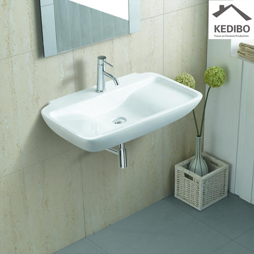 770x 465 Large Size Classical Ceramic Wash Basin Sink 1236