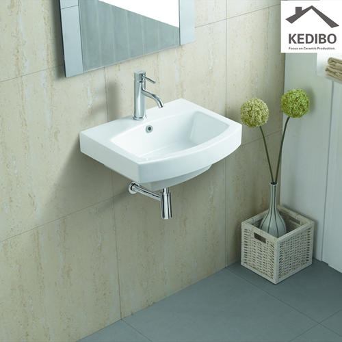 510x420 Popular Sale Square Ceramic Wash Basin Sink 611