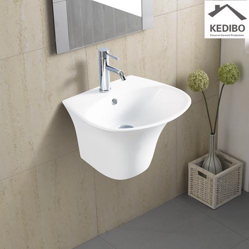 KEDIBO wash wall hung basin overseas market for commercial apartment-1