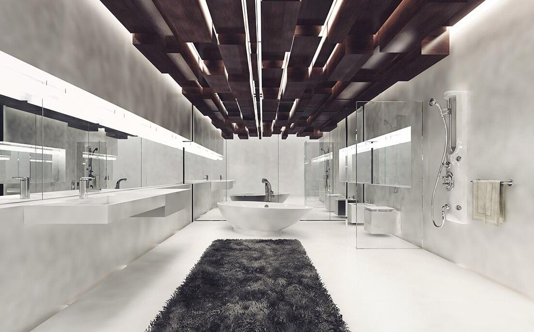 KEDIBO Brand square elegant different wall hung wash basin ceramic