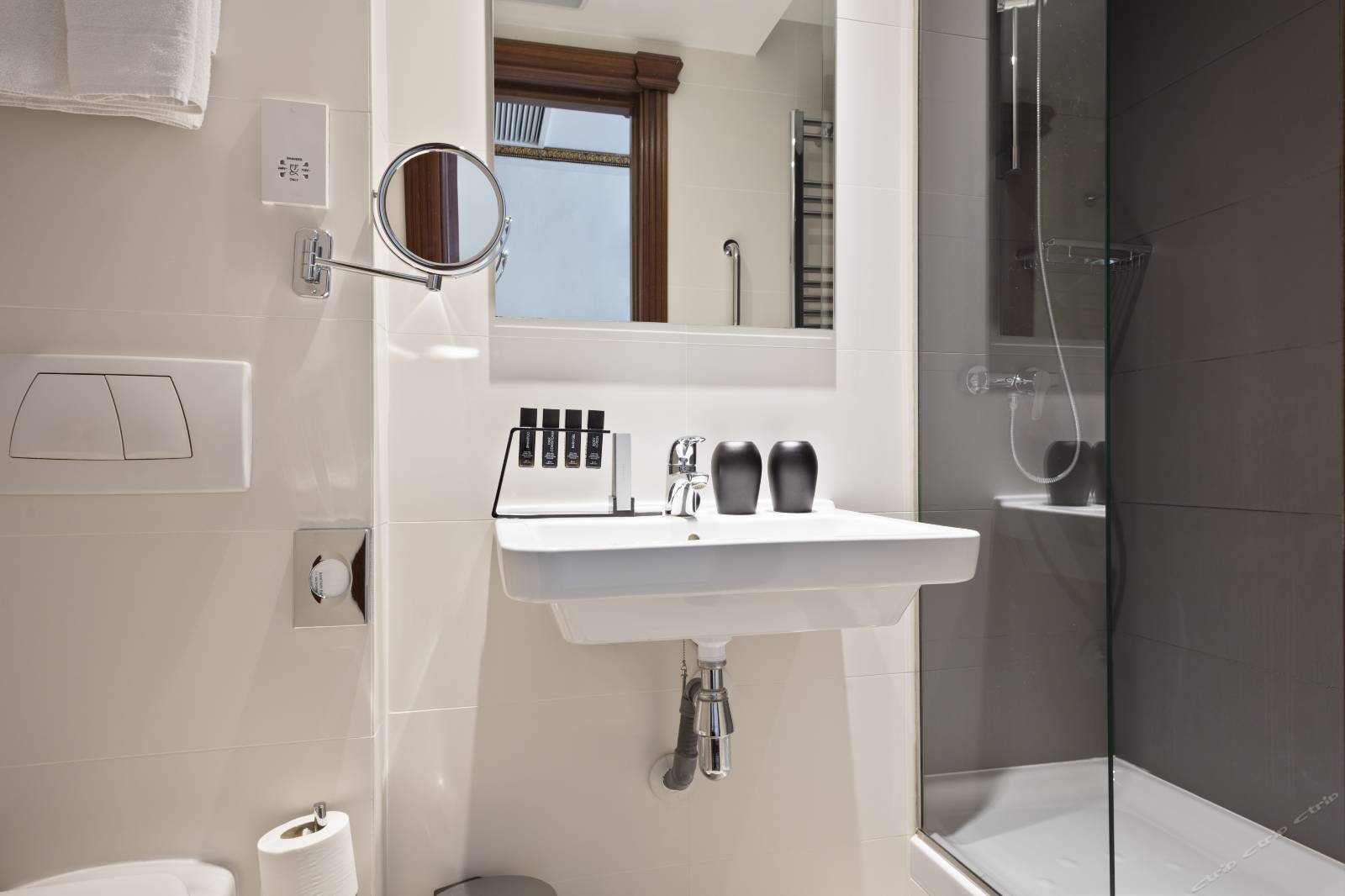slim wall mounted basin grab now for washroom KEDIBO