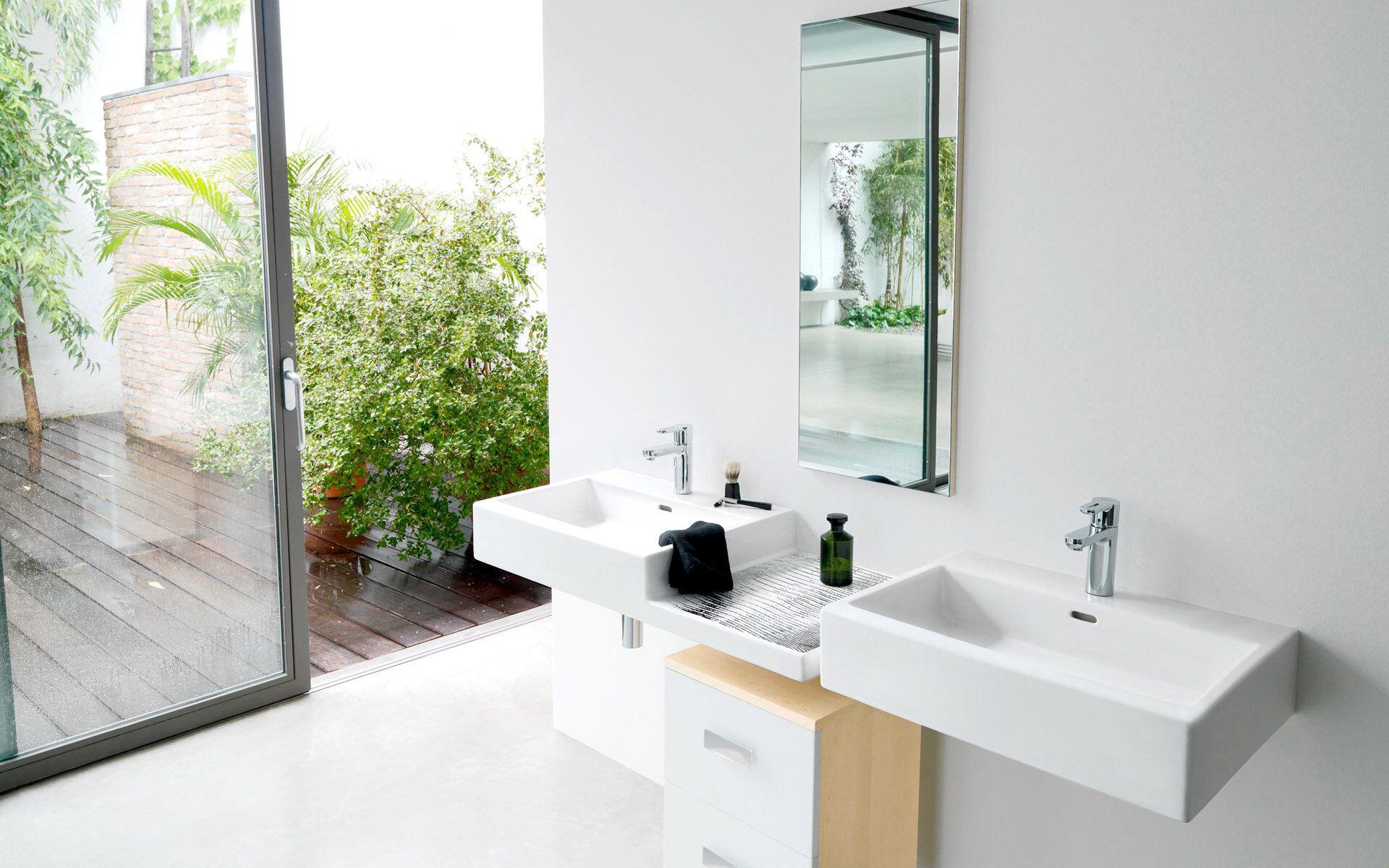 classical design ceramic wall hung basin outdoor overseas market for bathroom-15
