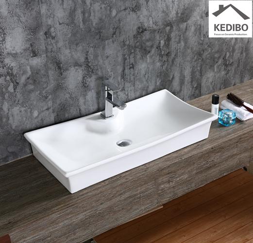 ceramic basins exporter for washroom KEDIBO-1