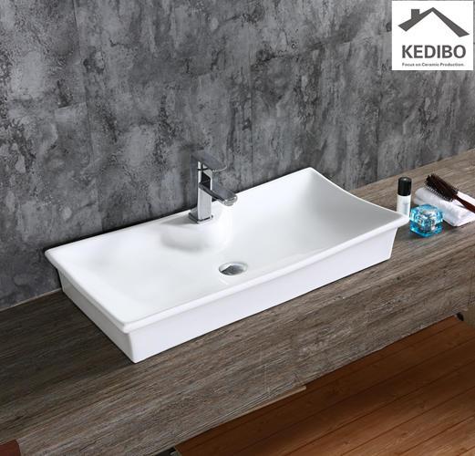 800x400 Large Size Square Bathroom Art Basin 7053