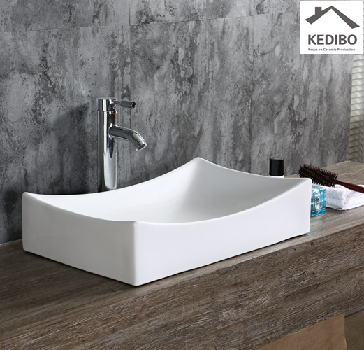 KEDIBO modern square bathroom sinks for super market-1
