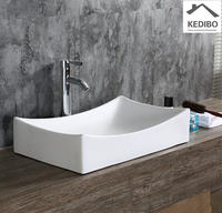 660*390 CSA approved Square Rectangle Wash Bathroom Basin  7097