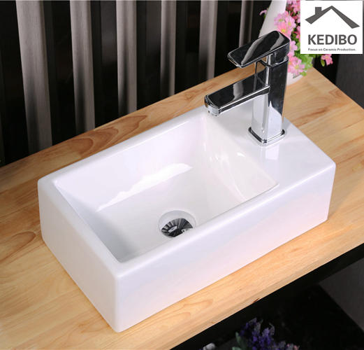460x260 Small Size Wall Hung Wash Hand Basin Sink  7098C