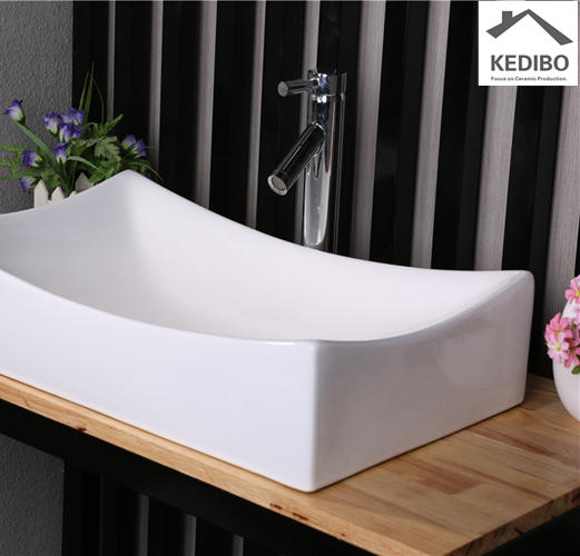 KEDIBO Brand edge marble toilet wash basin design oval supplier
