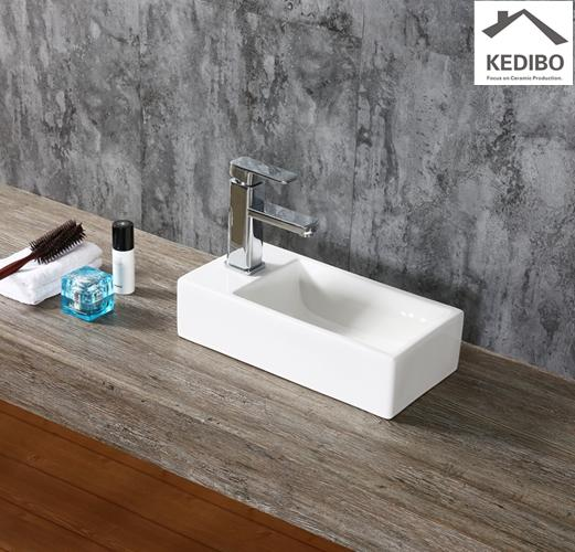 pratical ceramic wall hung basin special grab now for commercial hotel