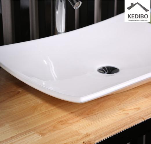 KEDIBO fashion large bathroom sinks for shopping mall-8