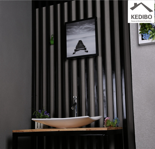 KEDIBO fashion large bathroom sinks for shopping mall-9