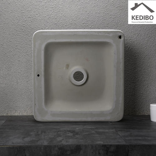370X370  NEW PRODUCTS Super Slim Square Porcelain Basin 0062