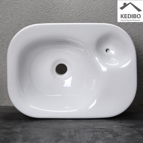470x340 NEW PRODUCTS Round Bowl Basin Sink with Soap Holder 0067