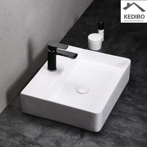 455x355 NEW PRODUCTS Slim Rectangle Counter Top Basin 7603