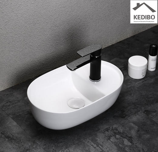 425x275 Oval Small Size Bathroom Bowl Washbasin Sink 0050