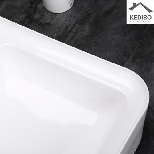 525x425 New Design Rectangle Bathroom Washbasin Sink 0056