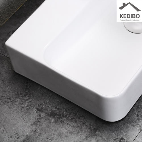 530x300 NEW PRODUCT Rectangle Ceramic Basin Sink  Without Overflow 0072A