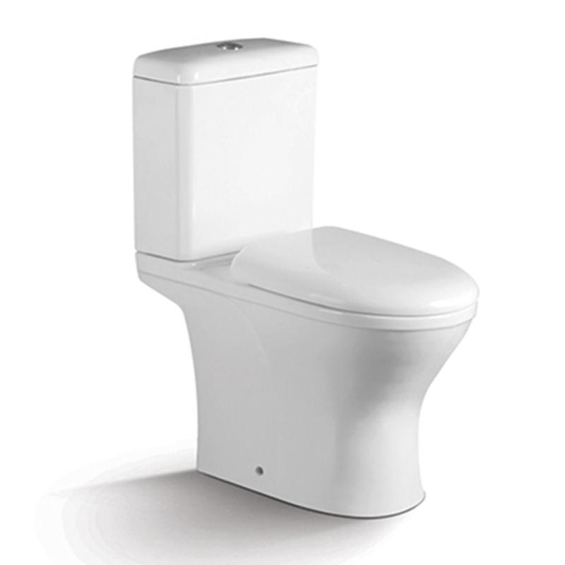Washdown Two-piece Porcelain Toilet Seat 1201A