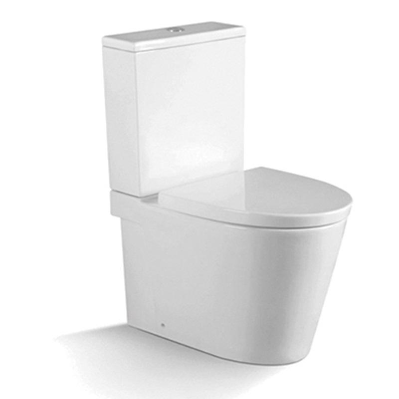 European Design Washdown Two-piece Toilet Suite 1210A