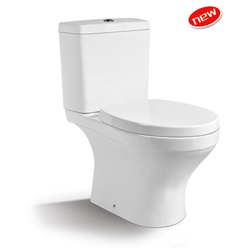 Washdown Two-piece Ceramic Toilet Seat 1212A
