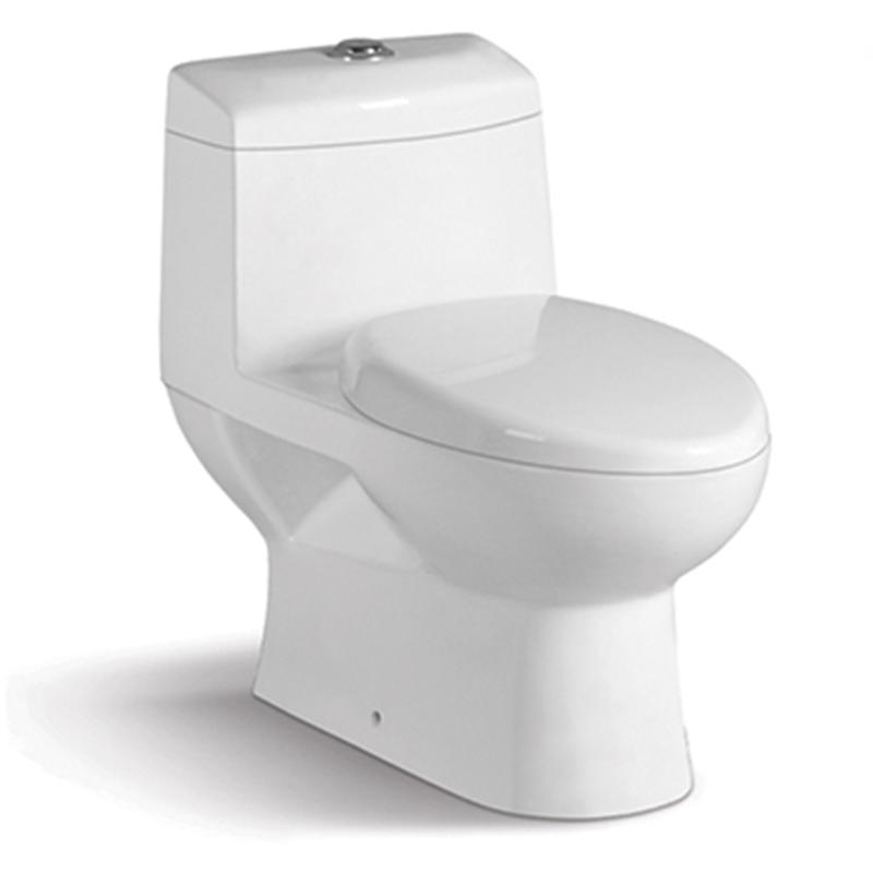 Washdown One-piece Modern Toilet Commode 1646